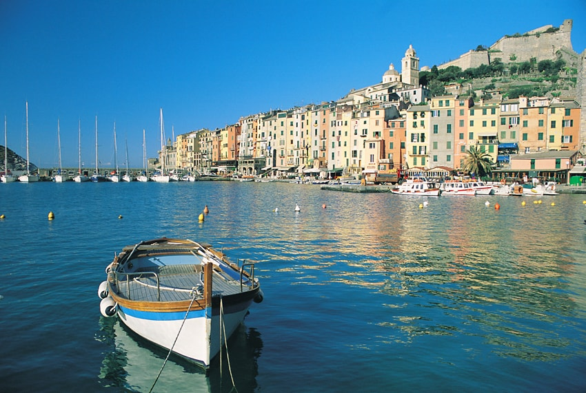 View of Portovenere, while waiting for the boat to Cinque Terre