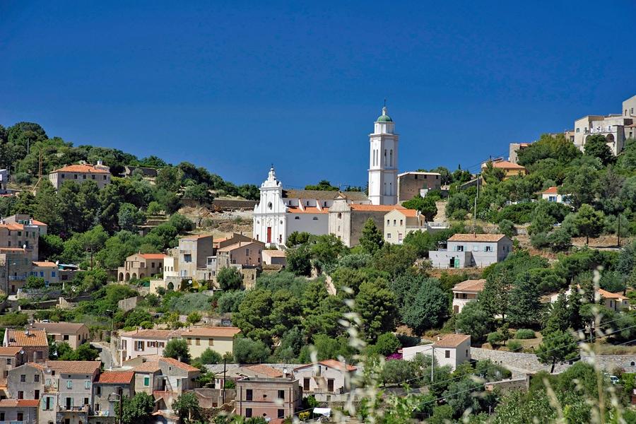 Corbara, Balagne, Corsica, France