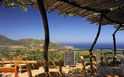 The ancient hilltop village of Pigna, Corsica