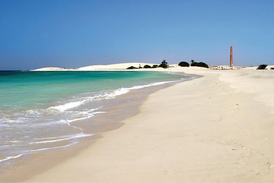 Boa Vista Sand dunes, Cape Verde