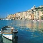 The pretty harbour town of Portovenere and the Cinque Terre