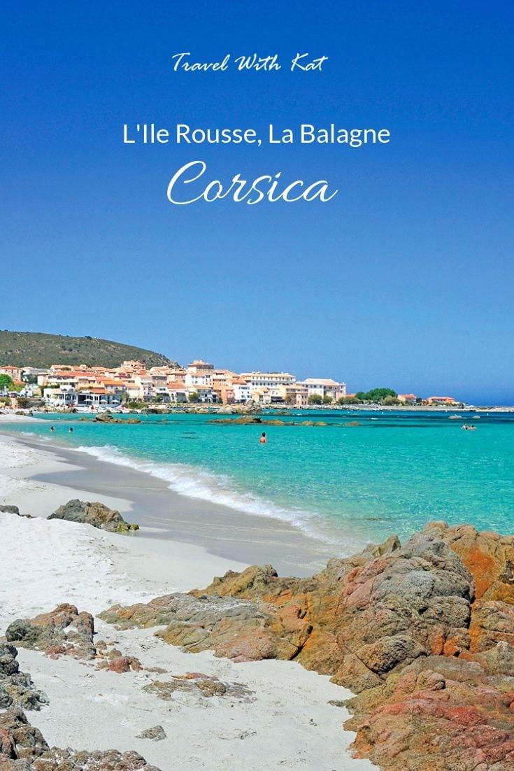 L'Ile Rousse, La balagne, Corsica #beachlife #Corsica #IleRousse #Balagne #beach #Mediterranean #islands