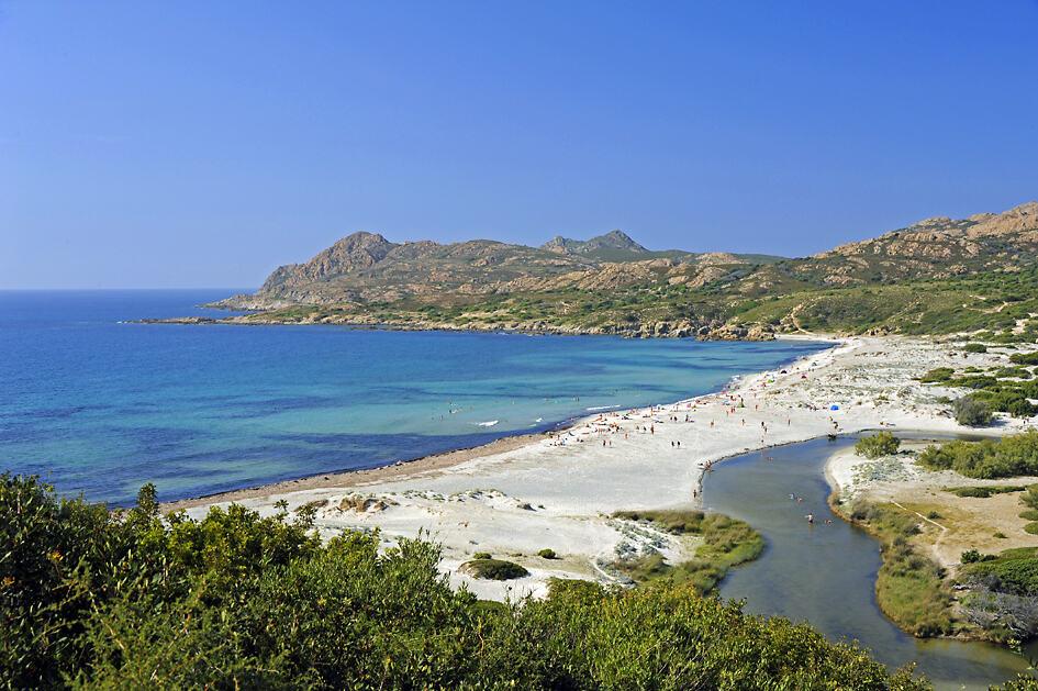 Ostriconi Beach, La Balagne, Corsica