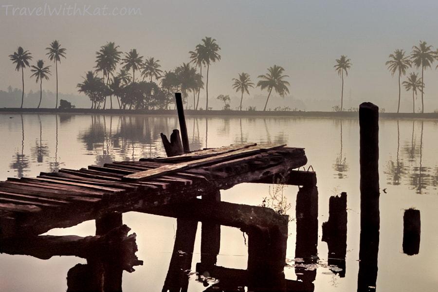 Kerala jetty, India photography
