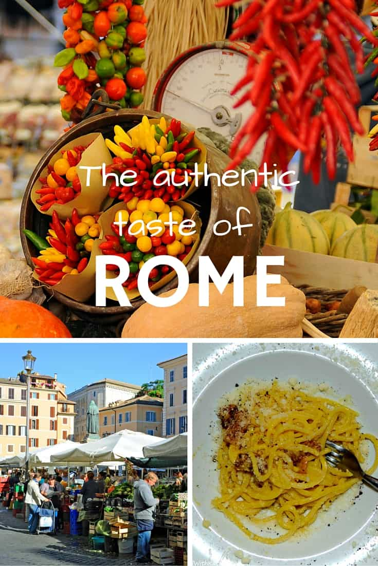 In search for the authentic taste of Rome