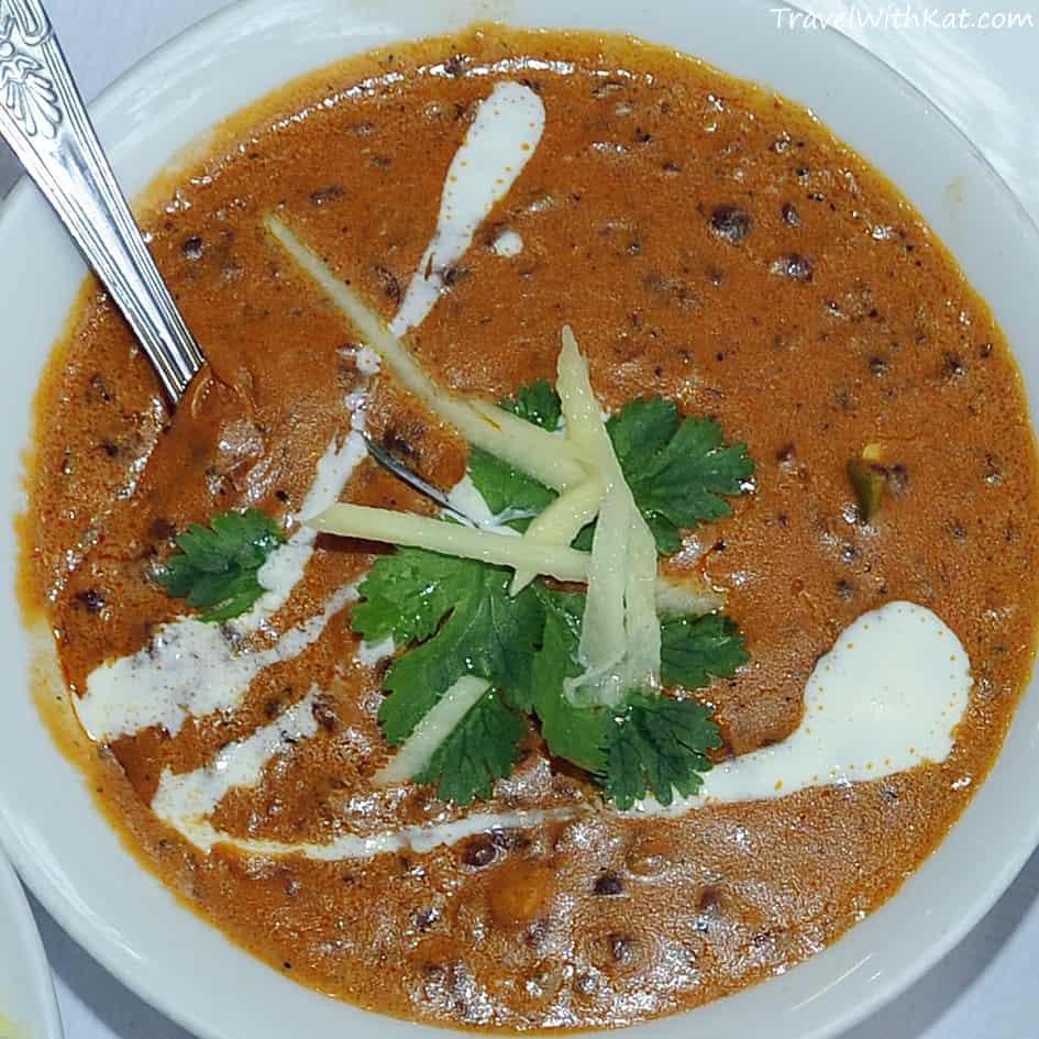 Black lentil dal