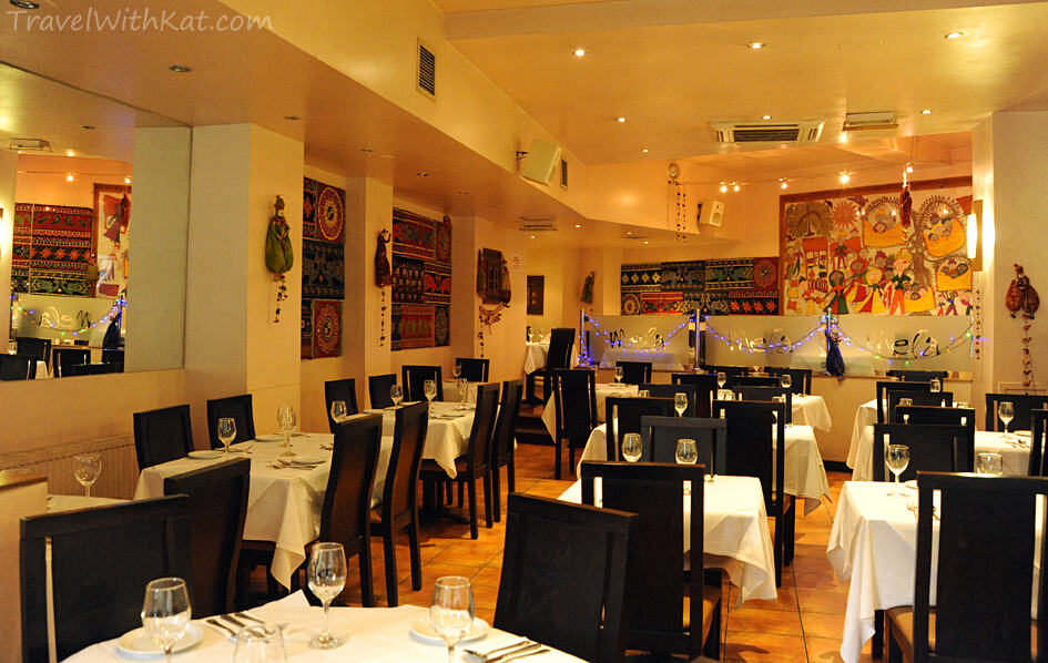 Reasonable Indian Restaurants In London