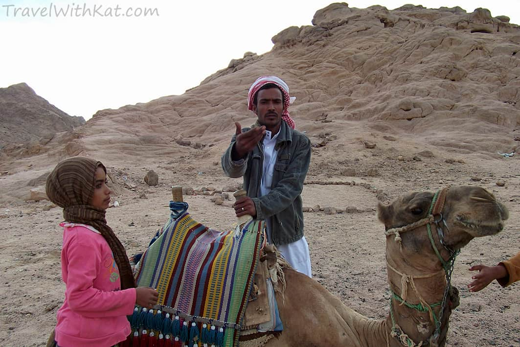 Camel riding with the Bedouins - Egypt travel safety