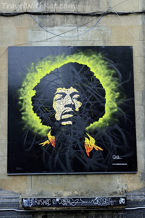 Brick Lane Art Jimi