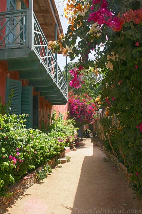 Goree Island street