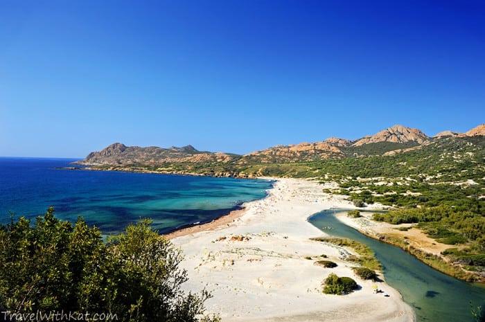 Ostriconi beach, North West Corsica