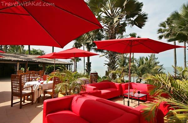 Ngala Lodge terrace