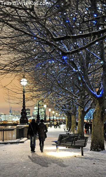 #FriFotos Romance London Snow
