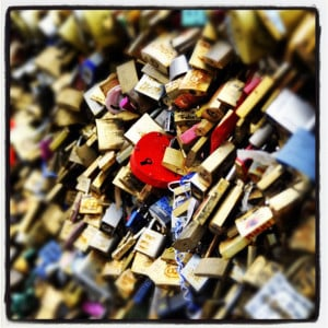 21 Love locks