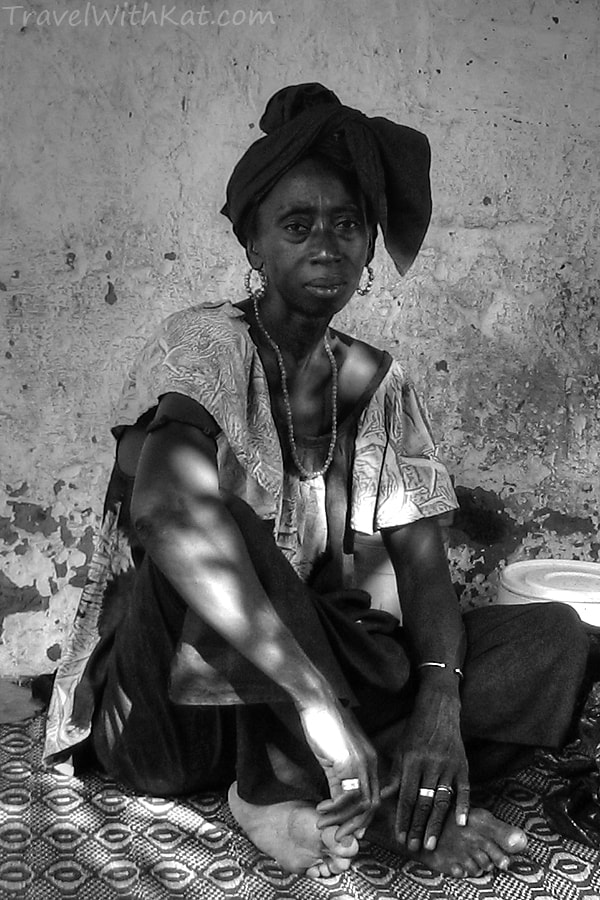 The Gambia, portrait, woman, West Africa