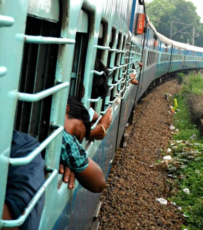 Kerala train ride