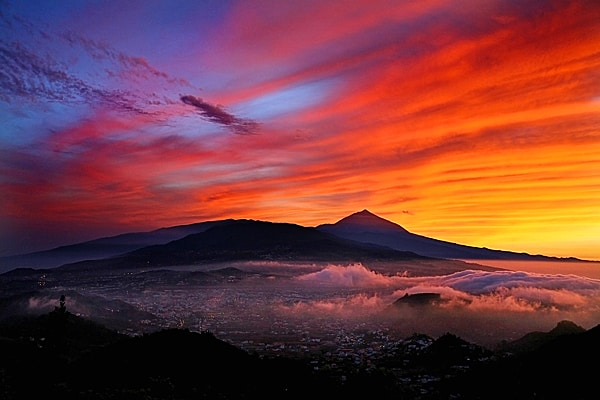 Tenerife sunset, The Canary Islands