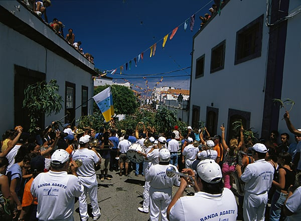 Fiesta de La Rama. Agaete. Gran Canaria.