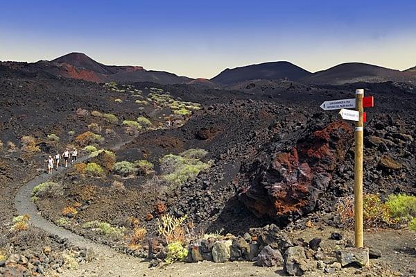 Fuencaliente. Monumento Natural Volcanes de Teneguía. La Palma.