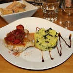 French Roast Chicken with raspberries, a cookery lesson at L'atelier des Chef
