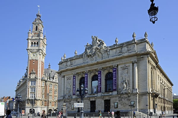 Lille chamber of commerce and the Opéra de Lille
