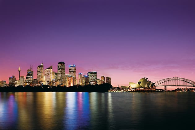Sydney © Tourism NSW, Tourism Australia, Courtesy of DSRD