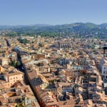 Overcoming my fear of heights in  Bologna