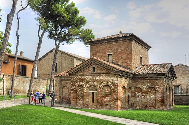 Ravenna mosaics, Mausoleum of Galla Placidia