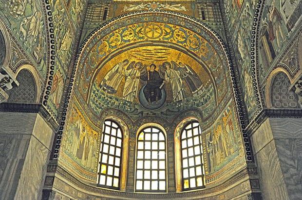 Ravenna mosaics, Basilica of San Vitale