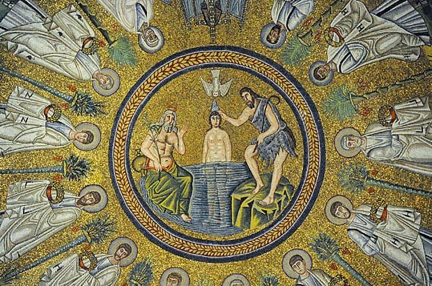 Ravenna mosaics, The Arian Baptistry