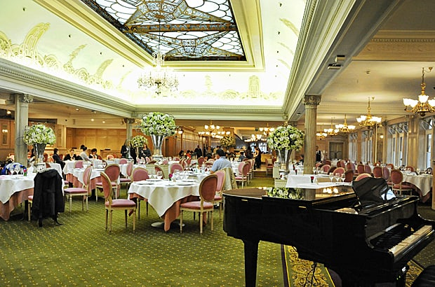 The Georgian Restaurant, Harrods, London
