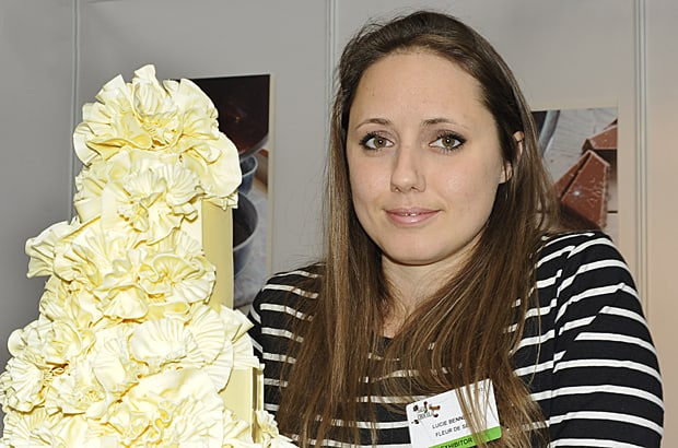 Chocolate wedding cake, Lucie Bennett, Fleur de Sel