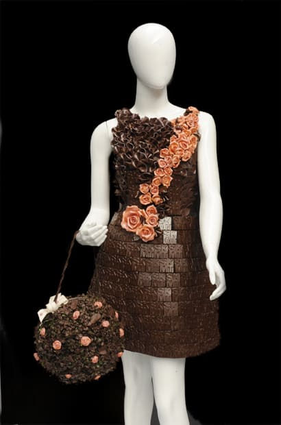 Salon du Chocolat, chocolate fashion show 2013