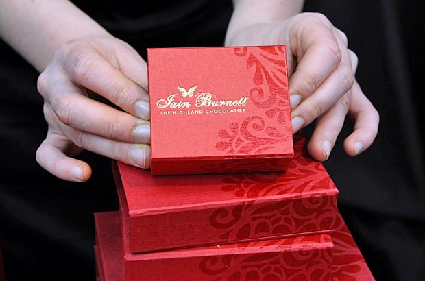 salon du chocolate, Iain Burnett