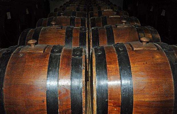 Artisan balsamic vinegar, grape juice, time and passion