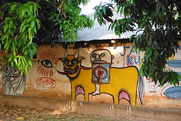 Kubuneh Street Art in The Gambia