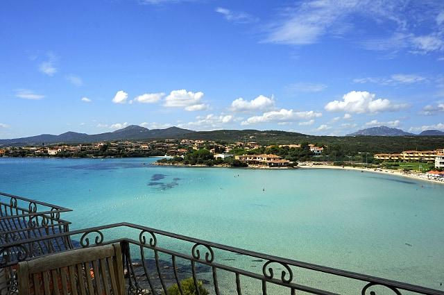 The view from Hotel Gabbiano Azzuro, Golfo Aranci
