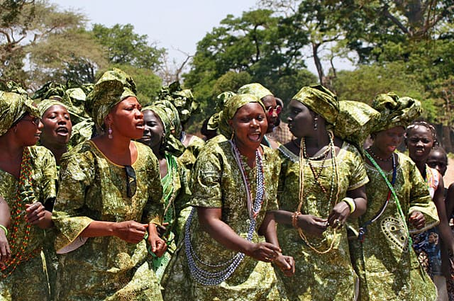 Jola women's group