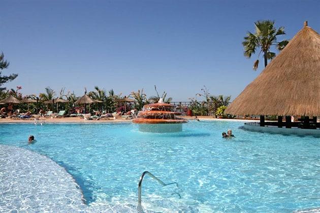 best hotels, Gambia, Senegambia Hotel
