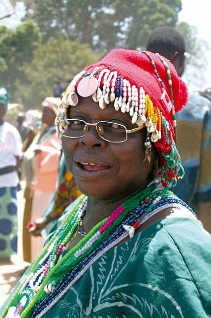 Spectator at Jola Festival