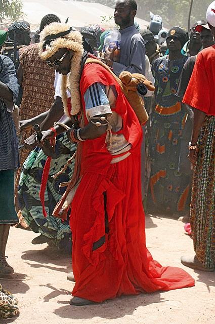 Jola initiation festival