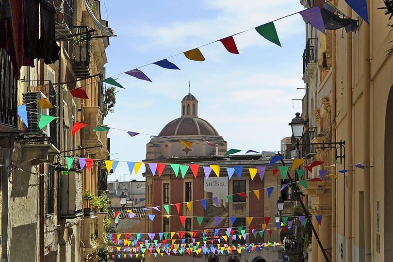 Cagliari old town, Sardinia