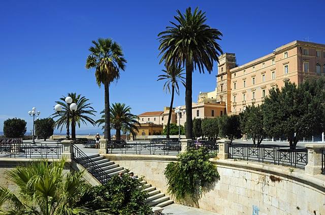 Bastione San Remy, Cagliari, Sardinia