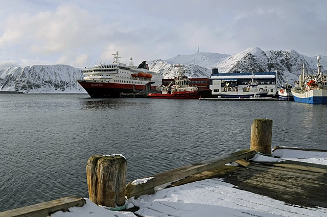 MS Richard With, Honningsvåg