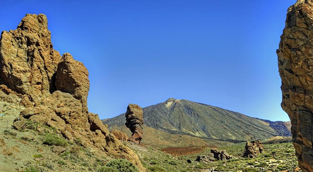 Tenerife volcano