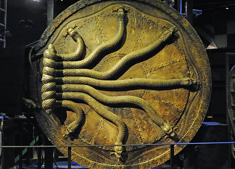 The door to the Chamber of Secerets