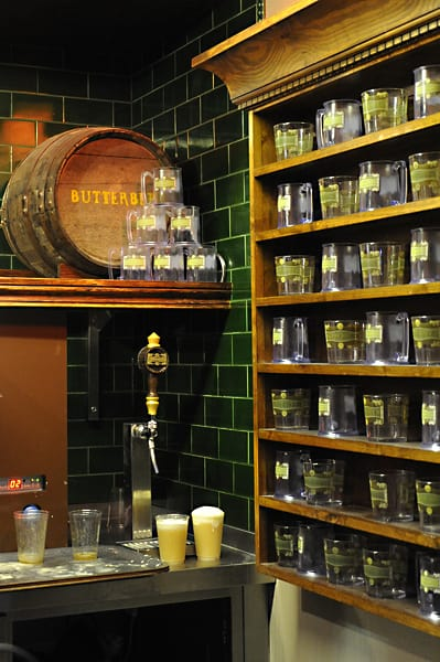 bar selling butterbeer