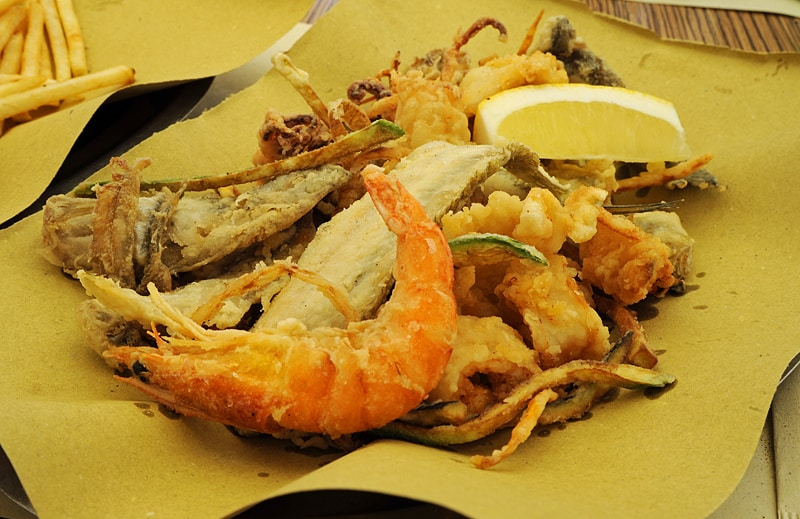 best things to eat in italy, fritto misto
