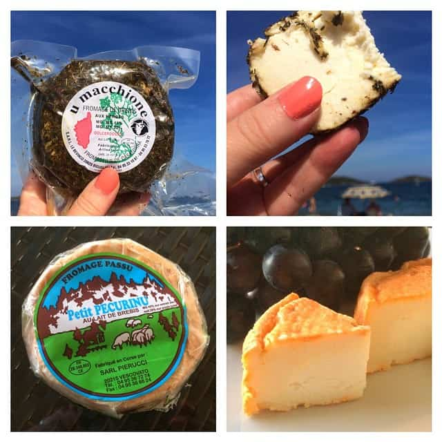 Corsican cheese