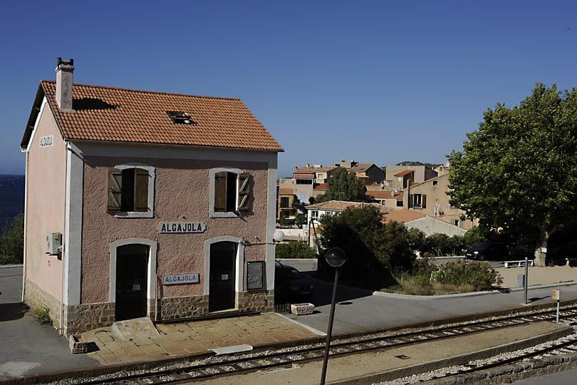 Algajola railway station